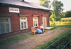 The narrow gauge railway in Latvia, Kalniena station